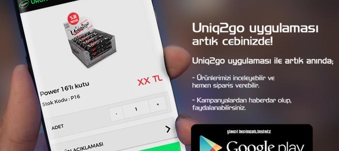 Uniq2go Mobil Uygulama Android