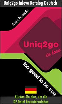 Uniq2go In Love Catalogue in German Language