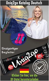 Uniq2go Catalogue in German Language
